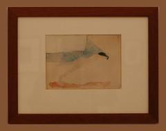 Pablo Picasso (1881-1973) Recumbent Female Nude (Salome), 1904-1905, Indian ink, pen drawing, water color (Sergei P. Zubkov) Tags: november art prague drawing praha fair palace trade 2011 veletrn