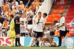 Valencia CF 1-0 Rayo Vallecano (7ªJornada) (VAVEL España (www.vavel.com)) Tags: fútbol mestalla valenciacf rayovallecano ligaespañola ligabbva fútbolespañol vavelcom carlacortés