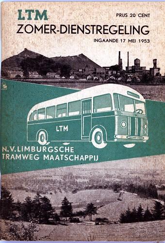 LTM dienstregeling 1953