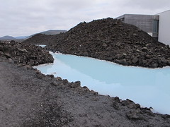 Blue Lagoon (rightthewrong) Tags: blue summer white hot water pool swimming island iceland spring blu july super lagoon front pools springs mineral bathing peninsula geo spa geothermal complex thermal reykjanes attraction heated grindavk bla 2013 lni superheated
