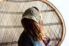 (x3_georgia) Tags: art dreadlocks hair colorful handmade crafts crochet knit dread fiberart dreads fibers accessory earwarmers peacockchair crochetart festivalwear dreadaccessory readwrap