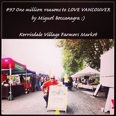 | no.97 | | Kerrisdale Village Farmers Market | (onemillionreasonstolovevancouver) Tags: world city people tourism home promotion vancouver cool realestate farmersmarket profile today kerrisdale l4l vancity downtownvancouver metrovancouver onemillion cityofvancouver vancouverite vancouvercity vancouvertourism vancouverrealestate vanone awesomevancouver instaphoto instagood instafollow uploaded:by=flickrmobile flickriosapp:filter=nofilter miguelboccanegra thegreatervancouverarea