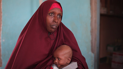 Interviewing an adopted mother Somalia