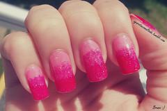Nail Art: Degrad Rosa (A Garota Esmaltada) Tags: pink rosa nails nailpolish bruna unhas nailart esmaltes naildesign degrad unhasdecoradas unhasartisticas agarotaesmaltada