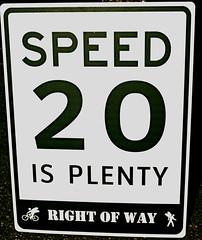 DSC_1084_2 (rightofwaynyc) Tags: nyc row pedestrians speedlimit rightofway bikenyc 20isplenty