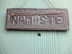 namaste, little buddy (petit hiboux) Tags: travels upstatenewyork hudsonrivervalley