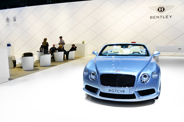 car convertible british v8 laautoshow lightblue babyblue bentleycontinentalgtc grantourer