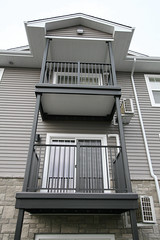 Wahoo Complete is a pre-fabricated aluminum balcony for use in multifamily residential communities.