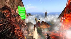Avilion Loch - the treasure trouble (Osiris LeShelle) Tags: life treasure taken medieval trouble fantasy secondlife second loch discovery roleplay disappeared avilion