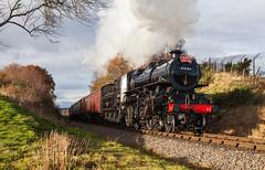 Santa special (Mirrorfinish) Tags: santa train steam flyingpig svr severnvalleyrailway bewdley 43106