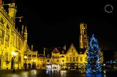 Christmas in Bruges... (Peppis) Tags: christmas night nikon nightlights nightshot belgium belgique brugge christmaslights bruges nationalgeographic belgio nightimage fotonotturne peppis nikoniani nikond7000 nikonclubit