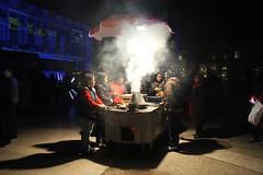 Portugal - Lisboa (Baixa) (xpgomes14) Tags: street portugal vendedor lisboa lisbon smoke nuts stall chestnuts noite baixa pracadocomercio fumo quentes terreirodopaco castanhas