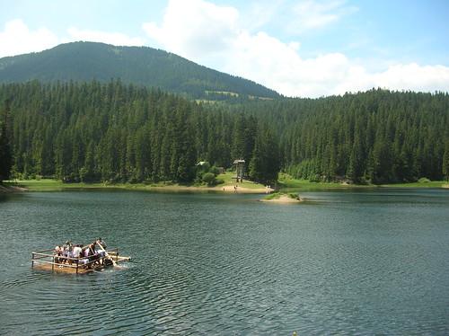 Lake Synevyr, Synevyrska Polyana, Ukraine