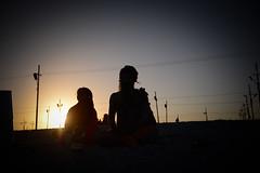 Sadhu (Leonid Plotkin) Tags: sunset india festival religious asia religion celebration meditating ritual meditation hindu hinduism mystic sadhu ascetic holyman allahabad kumbhmela kumbh kumbhamela
