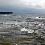 Verregnete Ostsee bei Göhren auf Rügen thumbnail