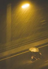 oo heavy rain (alchroniclez) Tags: street rain flood jakarta motor