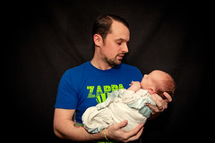 Father & Son (T-3 Photography) Tags: family portrait baby selfportrait self canon myself infant child flash son 1740mm selfie speedlite 5dmarkii