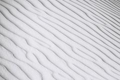 Layers of sand #3 (momentaryawe.com) Tags: blackandwhite lines sand desert patterns sandy uae unitedarabemirates momentaryawecom