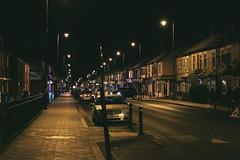 Newland Ave at Night (Alasdair Jackson) Tags: night canon 50mm university ii hull f18 avenue mk newland