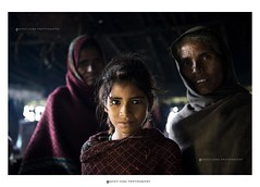 Women of the Bheel Tribe (Jayati2009) Tags: light portrait india mountain girl women hill tribal hut tribe rajasthan udaipur brahma