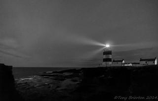 The Hook Light by Night.