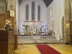 First Eucharist of Easter (goforchris) Tags: easter ritual symbolism resurrection newlight holysaturday