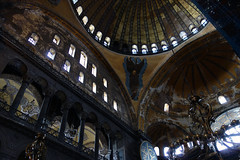 Pendentive, Hagia Sophia