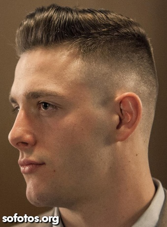 corte de cabelo masculino militar