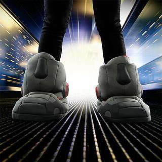 【影片有夠煩的啦!!!~XDDDD】巨型機器人音效拖鞋氣氛滿點!!!