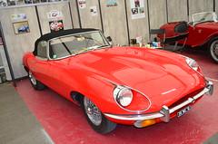 Jaguar Type E Cabriolet (benoits15) Tags: old uk english classic cars car festival vintage nikon automobile flickr meeting automotive voiture historic retro collection e type british motor jaguar avignon coches cabriolet prestige anciennes worldcars
