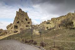 IMG_8581 (storvandre) Tags: travel history turkey site ruins mediterranean unesco geology turismo viaggio turkish cappadocia anatolia göreme goreme turchia kapadokya fairychimneys uçhisar centralanatolia storvandre