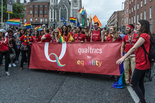 DUBLIN 2015 LGBTQ PRIDE PARADE [QUALTRICS FOR EQUALITY] REF-105996