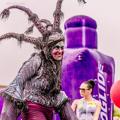 2015.07.18_SD_Pride-19-2 (bamoffitteventphotos) Tags: california summer usa rain weather purple sandiego cosplay july pride event prideparade northamerica 18 stilts sponsor hillcrest 2015 astroglide sandiegopride july18 sdpride lgbtq
