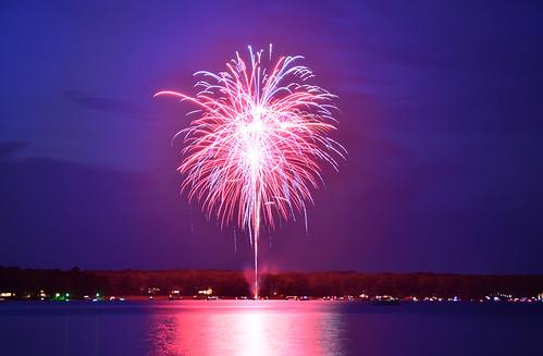 Lake Fireworks