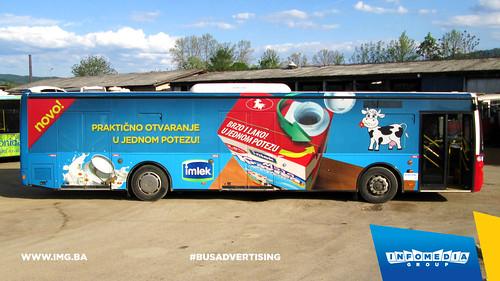 Info Media Group - Imlek, BUS Outdoor Advertising, Banja Luka 04-2015 (2)