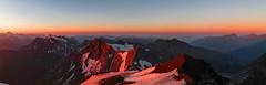 Hocharn 3254m (ernst.weberhofer) Tags: sunrise sonnenaufgang rauris mölltal sonnblick kolmsaigurn hohersonnblick hocharn hochalmspitze schareck goldzechkopf zirmsee