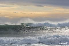 The furious sea (amart1976) Tags: nikond5200 sea waves sunrise wind lasnegras