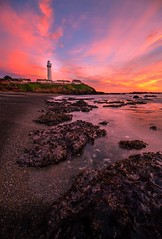BURNIN Pigeon Point! -Pescadero, CA- (kingzotshot) Tags: sunset california pescadero pigeonpointlighthouse pigeonpoint