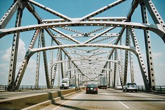 """Crossing the Bridge (faungg's photos) Tags: travel metal iron bridge architecture traffic cross crossing faungg """"on road 旅行 桥梁 建筑 在路上"""