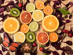 Fruits (alexpta) Tags: everydayphoto fruits kiwi lame lemon mandarin orange tangerine tomato