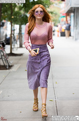 Bella Thorne and a Tiny Couple (Red Neptune) Tags: celebrity giantess feet crush sandals unaware stomp gts shrunkenman sm shrunkenwoman heels highheels