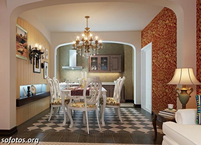 Salas de jantar decoradas (172)