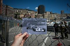 Monaco Grand Prix - Senna Vs Mansell 1992 (timcornbill) Tags: sea summer sun history marina coast harbour archive f1 racing monaco grandprix formula1 retrospective 2013 dearphotograph monaco2013