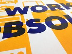 Work (scottboms) Tags: print propaganda posters facebook risograph marshallmcluhan analoglab mcluhanisms alrightsans