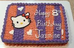 Hello Kitty Cake by Jenni, RDU NC, www.birthdaycakes4free.com