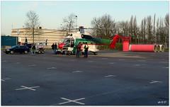 Heliport Goes (aad.born) Tags: tv zeeland helicopter goes antenne heli telecom superpuma zuidbeveland 歐洲 heliswiss tvtoren helog volkerwessels dhlog heliportgoes