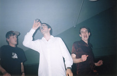 Smirnoff Ice (Gary Kinsman) Tags: 2002 party london film students youth drunk pose fun dance university dancing drink young hampstead smirnoffice hallsofresidence nw3 kingscollegelondon kcl childshill studentcampus hampsteadbar kidderporeavenue hampsteadstudentcampus