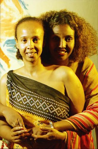Beautiful Somali Ladies Philadelphia Studio Portrait African