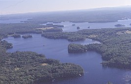 Damariscotta Aerial View