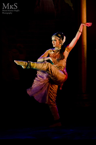 A bharatnatyam Dancer at Bull Temple ,Bangalore
